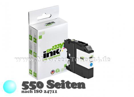 Tintenpatrone, cyan, kompatibel mit Brother ® LC-223C