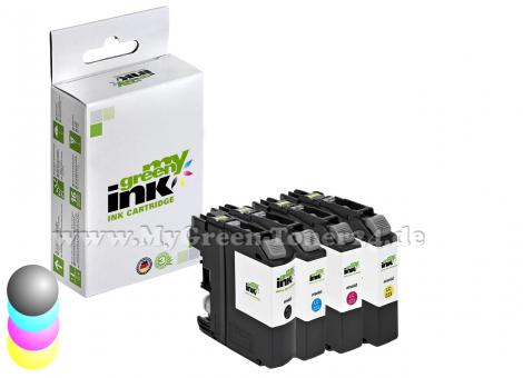 Tintenpatronenset, kompatibel mit Brother® LC-223VAL